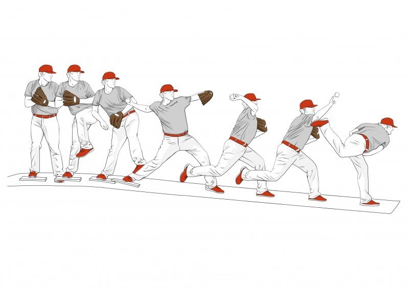 Baseballer pitch