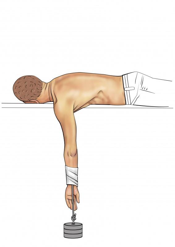 Shoulder diagnostic tests Stimson test